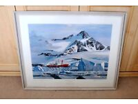 Limited Edition Print of HMS Endurance In The Ice