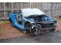 2001 BMW E46 M3 Convertible Cabrio Body Shell w/ Wider arches Laguna Seca Blue