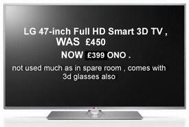 LG 3D Smart TV 47 Inch Full HD