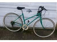 Ladies retro Raleigh town bike