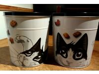 Collectable Felix cat treat tins (empty)