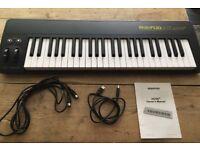 MIDIPLUS AK490+ Semi-weighted USB MIDI keyboard controller