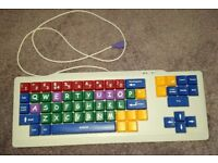 Keyboard for Teaching Children / Kids Computer and USB Mouse