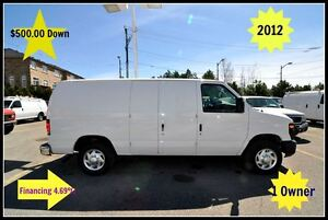 2012 Ford E-150 $500.00 Down. Certified.