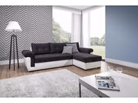INSTRUMENT MILANO Large Corner Sofa Bed With Storage / More sofa beds available