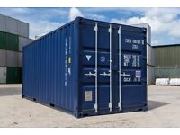 Shipping Container 20ft Storage Unit - Single Trip