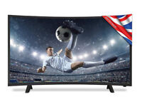 "Brand New Cello 32"" Curved LED Digital TV with Freeview T2 HD - Black"