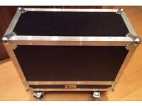 NSP Custom Flight Case - Fender Twin Reverb Guitar Amp - VGC