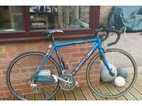 Scott USA 24speed Triple Road Bike Med56cm Handbuilt Liteweight Alloy Frame Shimano Integrated Gears