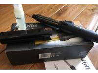 Babyliss Pro cordless curling tong up to 200 degrees in good working condition