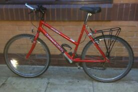 Men's Raleigh Red Mountain Bike