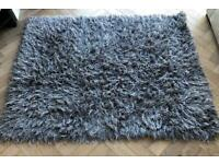 Grey large rug