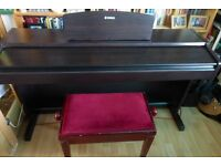 Yamaha Digital Piano YDP - 131. Excellent condition. In need of love and interest. Stool included.