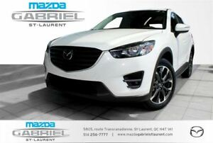 2016 Mazda CX-5 GT AWD TECH +  GPS + CUIR
