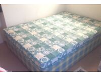 3/4 bed (Small Double) & mattress, excellent condition, no stains or damage. Bed unit and mattress.