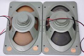 "Vintage Full-Range Speakers, EMI 92390 EA8 8""x13"" WORKING WELL, can send UK wide"