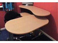 Desk & Swivel Chair