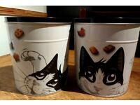 Collectable Felix cat treat tins (empty)
