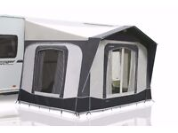 Bradcot Portico XL porch awning In perfect (like new) condition. Gun Metal Grey/Light Grey