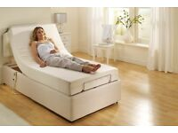 HSL Adjustable Bed with Cornwall Reflex Foam Mattress & Headboard