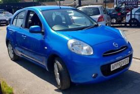 NISSAN MICRA 1.2 ACENTA 5d AUTO 79 BHP Apply for finance Online today! (blue) 2011