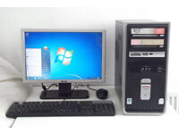 HP (i3, WIFI, Monitor, K/M, Office 2013, Photoshop, Adobe) All In One, Mini PC, Desktop PC, Computer