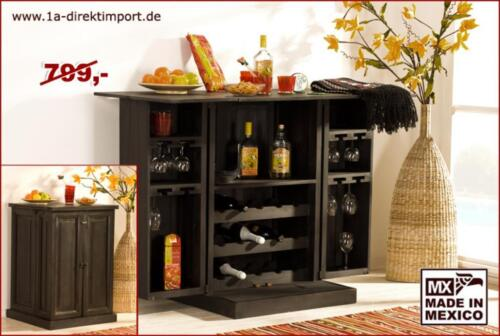kolonialstil bar barschrank hausbar mexico kolonial pinie massiv in dortmund dortmund h rde. Black Bedroom Furniture Sets. Home Design Ideas