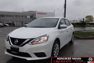 2017 Nissan Sentra 1.8 S  LOW KMS NON-RENTAL 