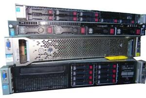 HP DL380 G9 SFF Enterprise Server 2X E5-2640 V4 2.40GHz 10-Cores 128GB 2X480GB 6X600GB SAS 10K  SmartArray P440