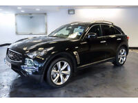 2012 12 INFINITI FX 3.0 FX50S 5D AUTO 390 BHP DIESEL*PART EX WELCOME*FINANCE AVAILABLE*WARRANTY*