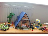 Playmobil Family Holiday Home Complete plus many Extras Sets including Wading Pool
