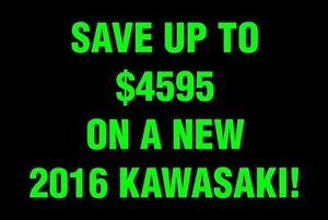 2017 kawasaki Autre Save up to $4595 on a 2016 model still in st