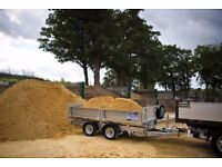 aggregates pea shingle gravel sand stones ballast free local delivery