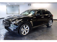 2012 12 INFINITI FX 3.0 FX50S 5D AUTO 390 BHP DIESEL*PART EX WELCOME*FINANCE AVAILABLE*WARRANTY*