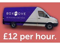 Man and Van hire in Falkirk from only £12 per hour!