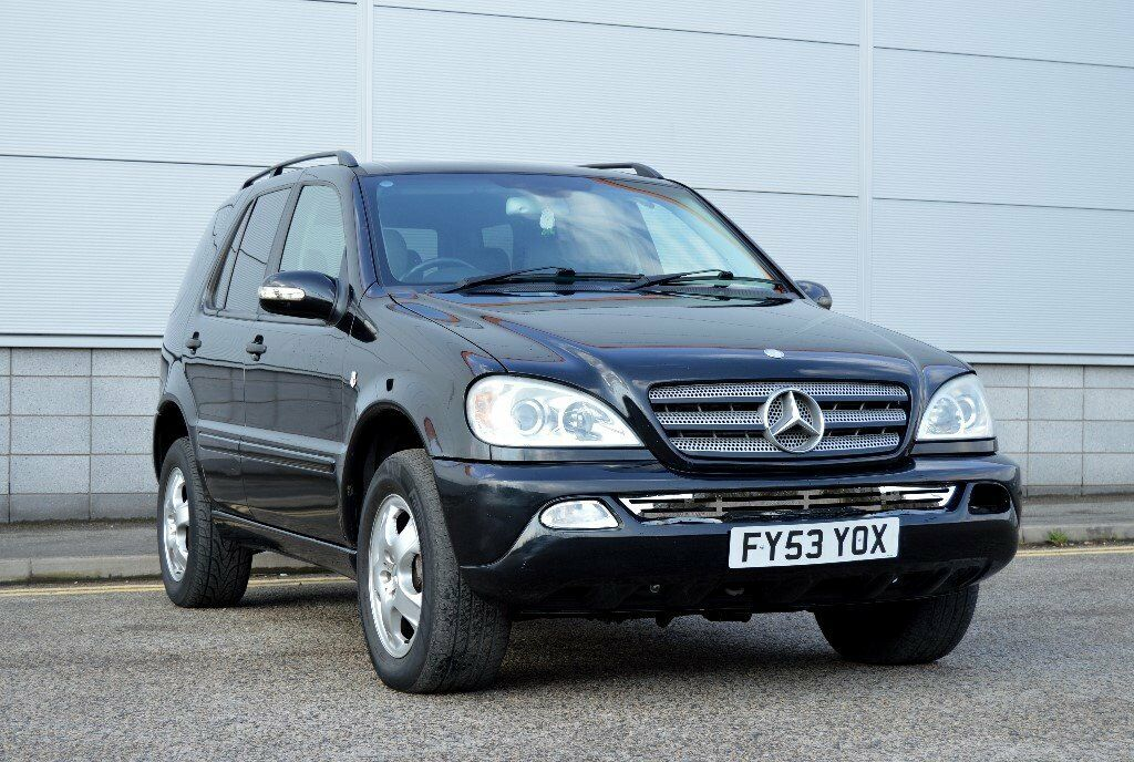 2004 mercedes ml 270 cdi auto benz bavarian edition full leathers 5 months mot fsh in. Black Bedroom Furniture Sets. Home Design Ideas