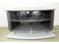 tv corner unit glass front doors