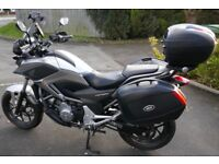 Honda NC 700XAD Silver DY63OEH - One owner, low mileage, lots of accessories.