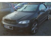 Vauxhall Astra Cabriolet Z18XE Z20R breaking for spares.
