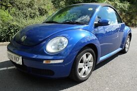 VW Beetle Cabriolet, late 2006, 11 months MOT, Tax December, Service History, Great Condition!!