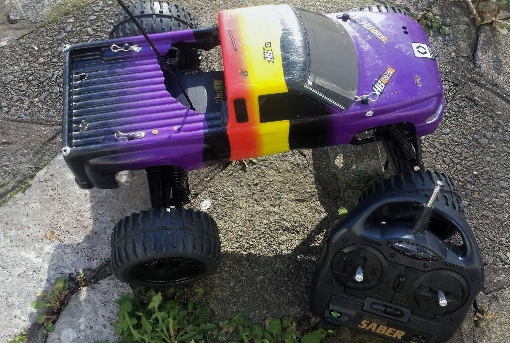 Rc Car Vintage Traxxas Stampede 2wd 110 Scale Radio Controlled Truck