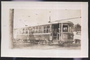 VINTAGE-PHOTO-TRENTON-NJ-NEW-JERSEY-TRANSIT-CO-STREETCAR-TROLLEY-360-ABANDONED