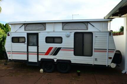 Coromal 17ft Dual Axle Poptop South Perth South Perth Area Preview