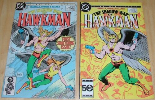 HAWKMAN & THE SHADOW WAR OF HAWKMAN LOT OF 6 COMICS