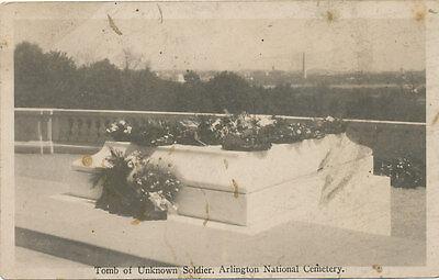 VA * Arlington National Cemetery Tomb of Unknown Soldier RPPC c1930 R.J. Bonde