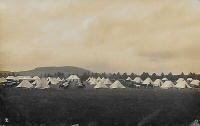 Ulster Volunteers? Belfast Calvary Tented Camp RP publisher Abernethy's Belfast