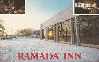 Ramada Inn  Niagara Falls   New York  Vintage Postcard