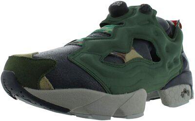 Reebok InstaPump Fury OG VP AR1448 Black-Green-Grey Running Sneakers 11.5 (NEW)