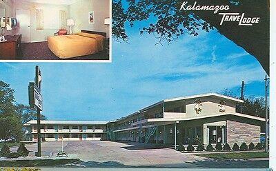 KALAMAZOO,MICHIGAN-KALAMAZOO TRAVELODGE-2VIEWS--(MICH-K#4*)