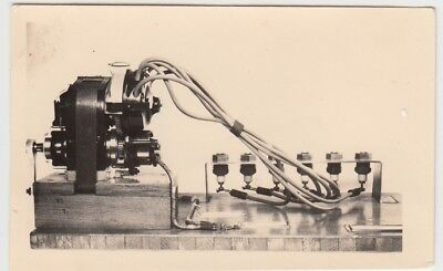 (F26373) Orig. Foto Magnetzündanlage eines Flugzeugmotors 1930er